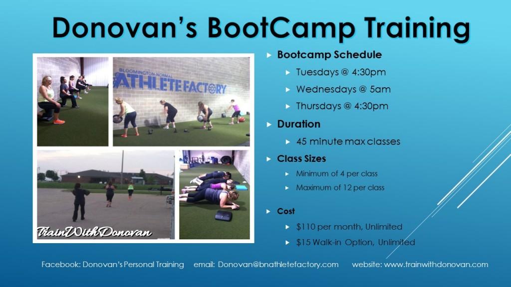 Donovan's Bootcamp